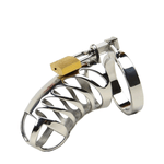 MS107  Metal Chastity Cage 3.35 inches long