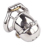 MS083 Double Locked Cock Male Chastity Device 2.56 inches long
