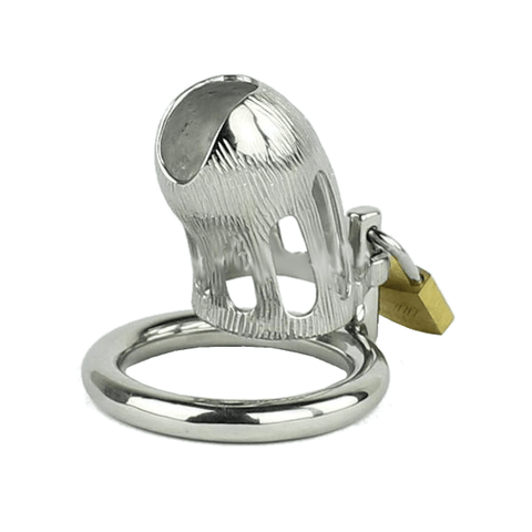 MS171 Metal Chastity Device 2.28 inches long