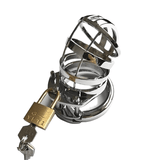 MS165 Metal Chastity Device