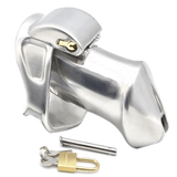MS167  Metal Chastity Device 3.82 inches long