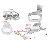 MS161 Metal Chastity Cage  3.03 inches