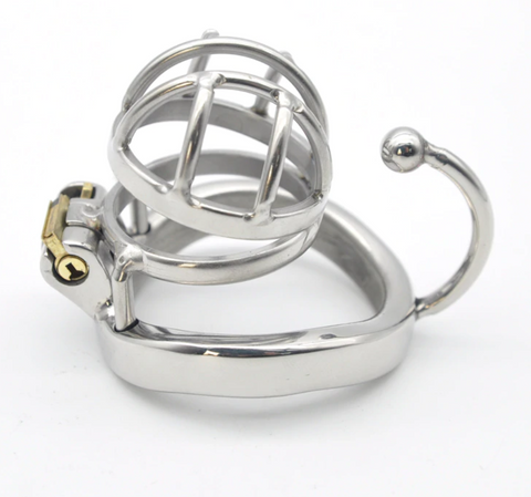 MS016 MENS SMALL CHASTITY CAGE 1.7 INCHES