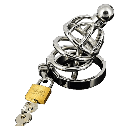 MS117 Chastity Cage 2.36 inches long