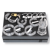 MS005 Resin Chastity Cage 2.75 inches and 3.55 inches long