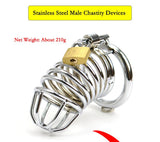 MS011 Metal Chastity Device 3.31 inches long