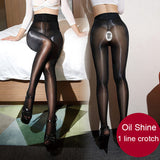 High Waist See Through High Elastic Pantyhose