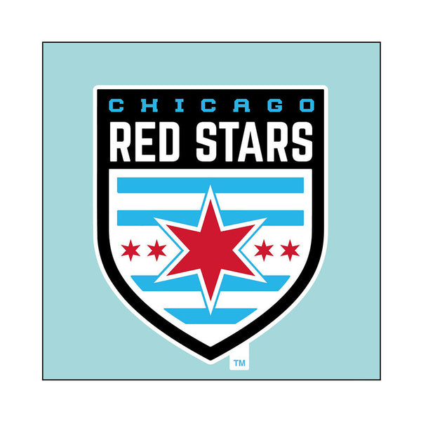 Chicago Red Stars 4x4 Decal