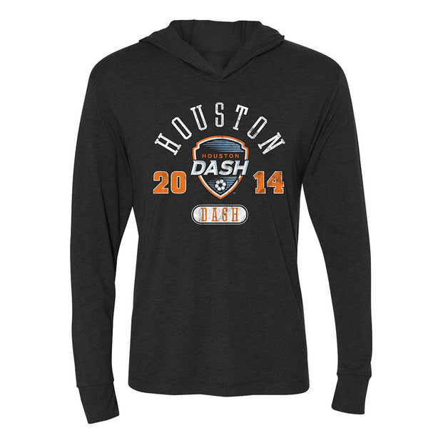 Houston Dash Ladies Long Sleeve Hooded Tee