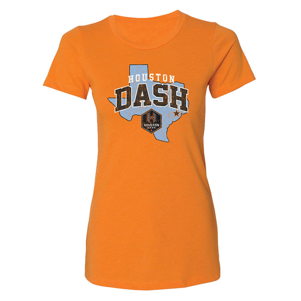 Houston Dash Ladies Outline Tee