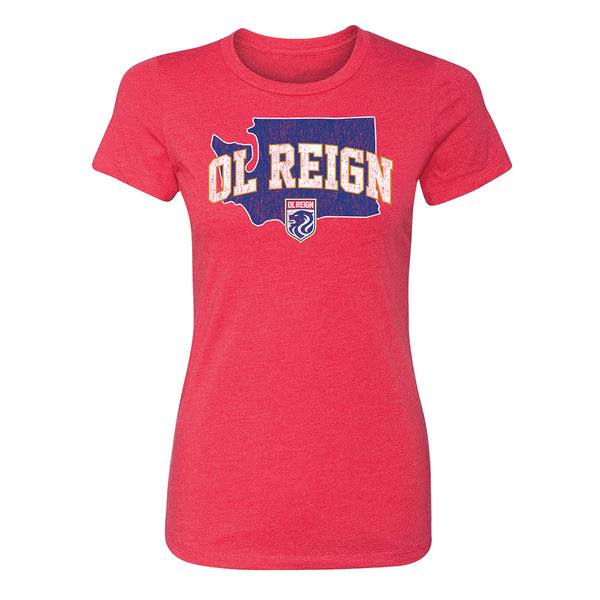 OL Reign Ladies Outline Tee