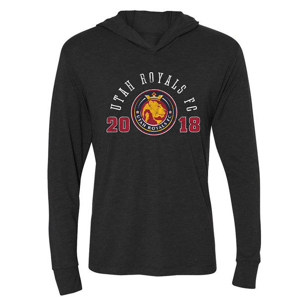 Utah Royals Ladies Long Sleeve Hooded Tee