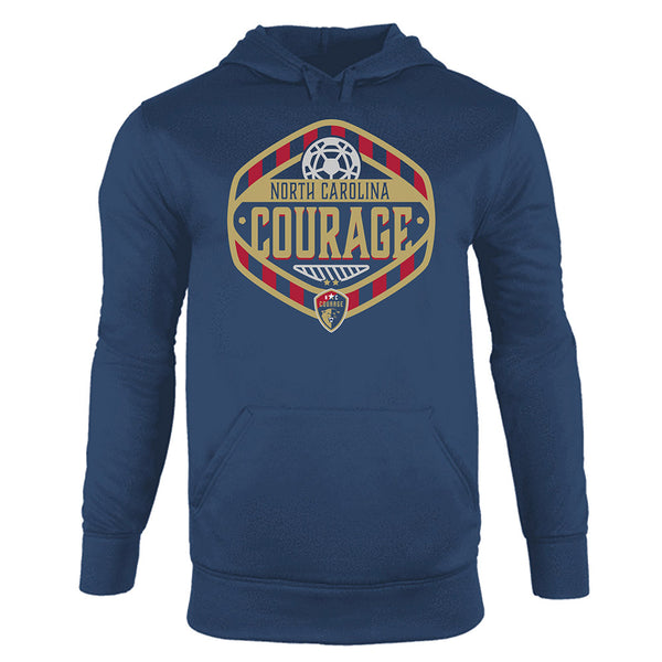 North Carolina Courage Fleece Pullover Hood