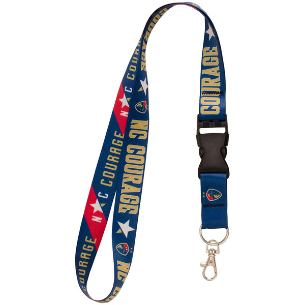 North Carolina Courage Lanyard