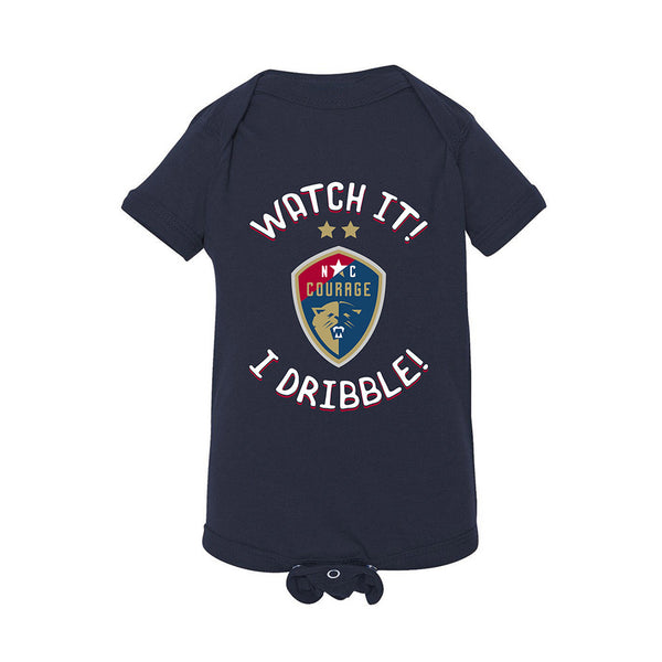 North Carolina Courage Onesie