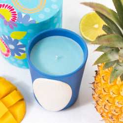 Candle Blue Paradise (limited edition)