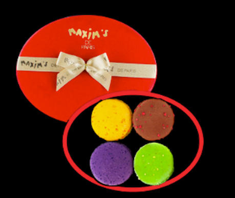 Macarons PARIS Box of 8
