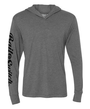 Long Sleeve Hoodie - Heather Grey