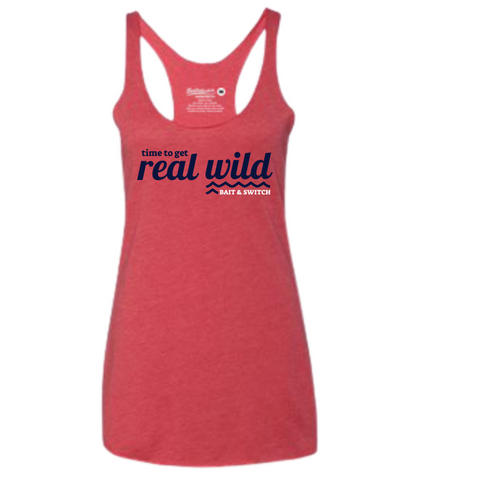 Red Tank-top that's Real Wild
