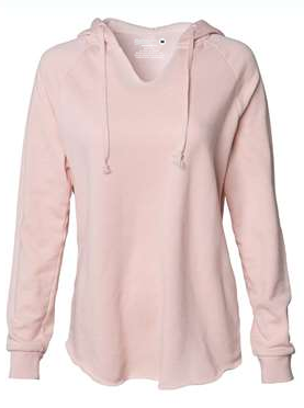 Lake Splash Hoodie - Light Pink