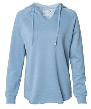Lake Splash Hoodie - Light Blue