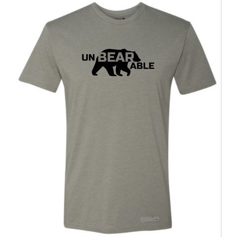 un - BEAR - able - Stone Grey
