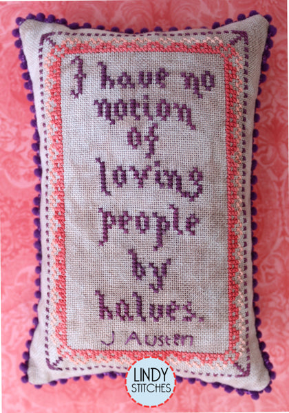 No Notion Pincushion Free Cross Stitch Pattern