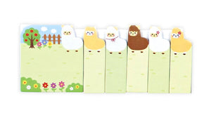 Alpaca Farm Note Pals Sticky Notes