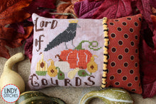 Load image into Gallery viewer, Autumn Royalty Deluxe Bag Set including Pattern, Floss, Project Bag, Rick Rack