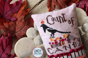 Autumn Royalty Cross Stitch Pattern Modern Cross Stitch by Lindy Stitches Physical Copy
