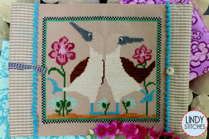Beach Dance Cross Stitch Pattern by Lindy Stitches Physical Chart