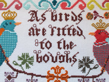 Load image into Gallery viewer, Birds to the Boughs Cross Stitch Pattern by Lindy Stitches Physical Copy