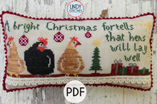 Load image into Gallery viewer, Weather Proverb Set of Four PDF Cross Stitch Patterns by Lindy Stitches