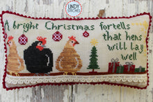 Load image into Gallery viewer, PDF Bright Christmas Cross Stitch Pattern by Lindy Stitches
