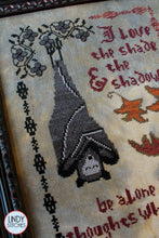 Load image into Gallery viewer, PDF Dracula's Confession Cross Stitch Chart by Lindy Stitches