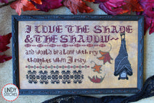 Load image into Gallery viewer, Dracula's Confession Cross Stitch Chart by Lindy Stitches Physical Copy