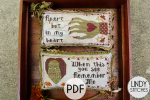 PDF Ex Ghoulfriend Cross Stitch Pattern by Lindy Stitches