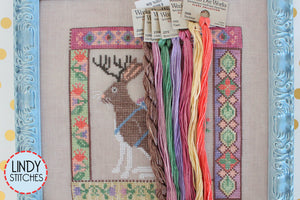 Jackalopian Tapestry Floss Pack Silk and Cotton Thread