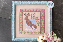 Load image into Gallery viewer, PDF Jackalopian Tapestry Cross Stitch Pattern Lindy Stitches PDF Digital Copy