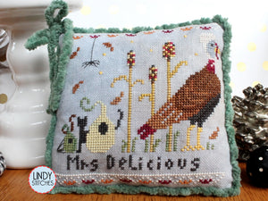 PDF Mr. & Mrs. Delicious Cross Stitch Pattern by Lindy Stitches