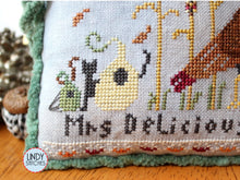 Load image into Gallery viewer, PDF Mr. & Mrs. Delicious Cross Stitch Pattern by Lindy Stitches