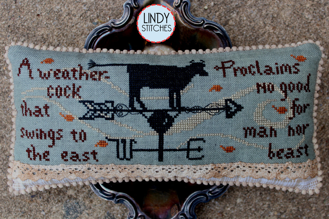 No Good for Man Nor Beast Cross Stitch Pattern by Lindy Stitches Physical Chart