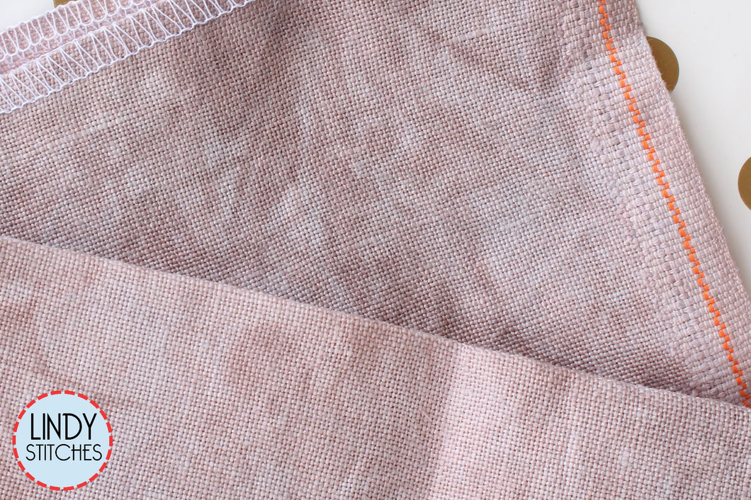 32 count Picture This Plus Shale Linen Fat Quarter Hand Dyed Belfast Linen