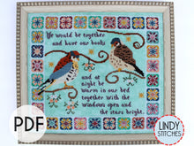 Load image into Gallery viewer, PDF Stars Bright Cross Stitch Pattern Lindy Stitches