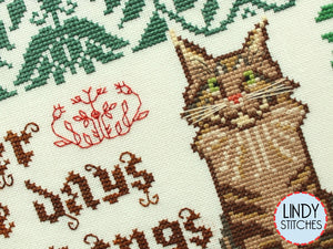 PDF I Still Remember Cross Stitch Pattern by Lindy Stitches