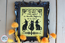 Load image into Gallery viewer, We Three Cross Stitch Pattern Modern Cross Stitch by Lindy Stitches Pattern Physical Copy