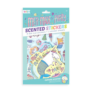 Cupcake Scented Stickers : Mer-Made to Party!
