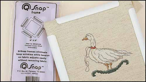 Q SNAP 11 x 11 Needlework Frame for Cross Stitch