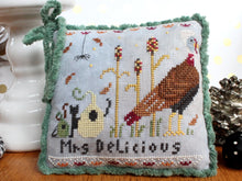 Load image into Gallery viewer, Mr. & Mrs. Delicious Cross Stitch Pattern by Lindy Stitches Physical Chart