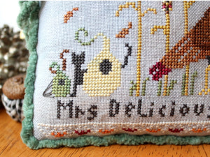 Mr. & Mrs. Delicious Cross Stitch Pattern by Lindy Stitches Physical Chart